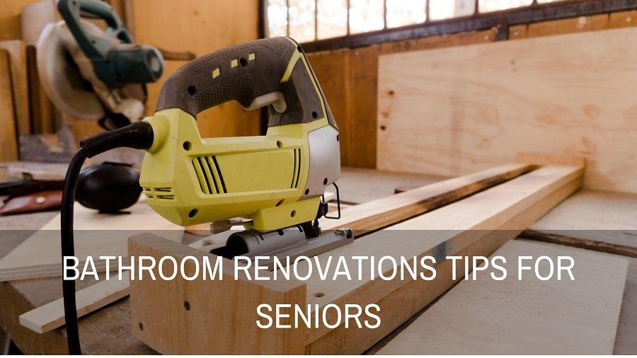 bathroom renovations for elderly